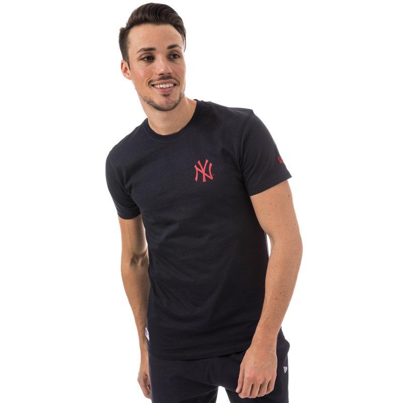 Tričko New Era Mens New York Yankees Team T-Shirt Navy