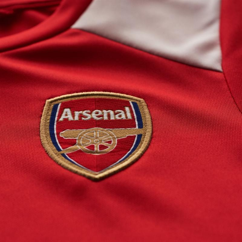 Team Arsenal Tee Shirt Junior Red