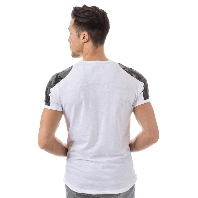 Tričko Ringspun Mens Indian T-Shirt White