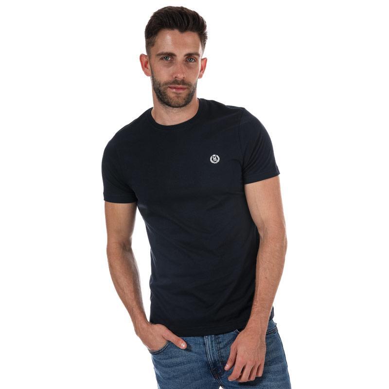 Tričko Henri Lloyd Mens Radar Regular T-Shirt Navy