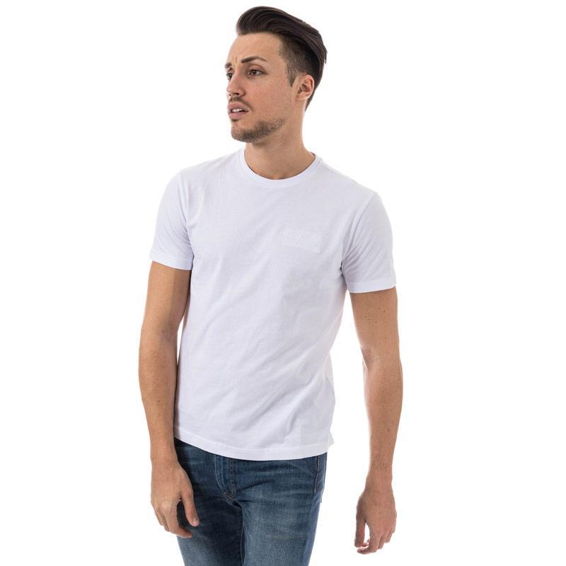 Tričko Emporio Armani EA7 Mens Train Core Plus Crew Neck T-Shirt White