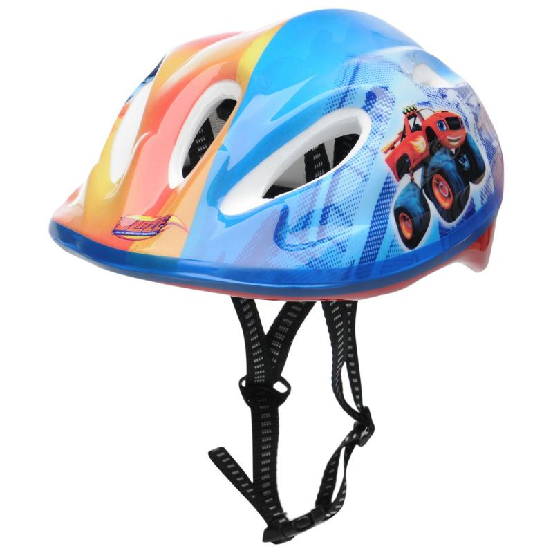 Blazer Pro Monster Machine Helmet Blue/Red