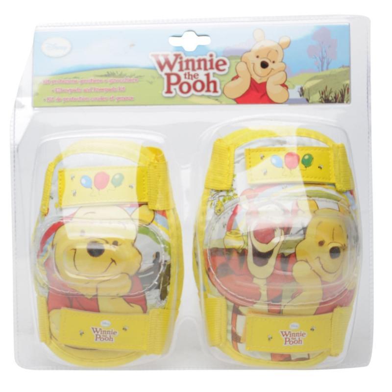 Disney Winnie the Pooh Knee Pads Yellow