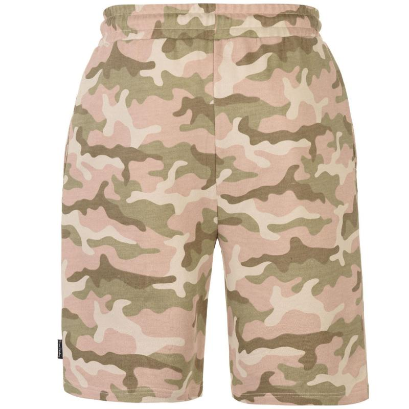 Pierre Cardin Camouflage Shorts Mens Sand Camo