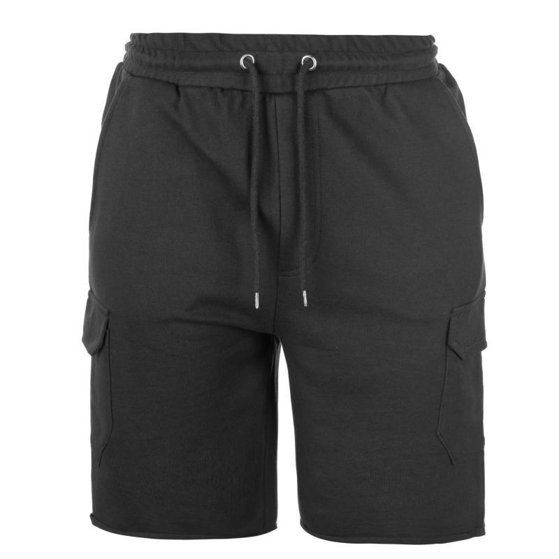 Pierre Cardin Fleece Cargo Shorts Mens Stone