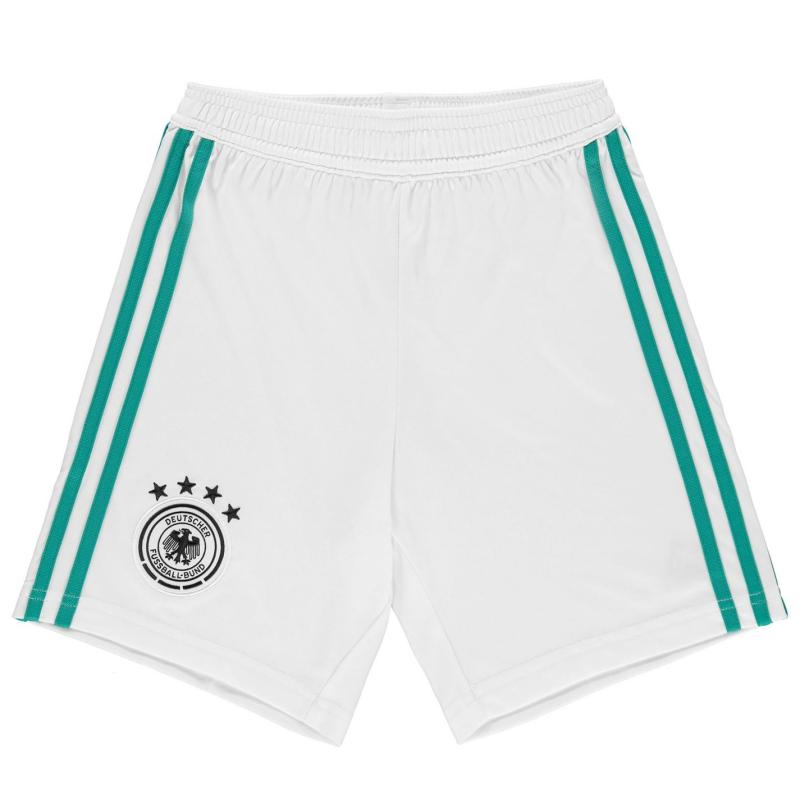 Adidas Germany Away Shorts 2018 Junior White/Green