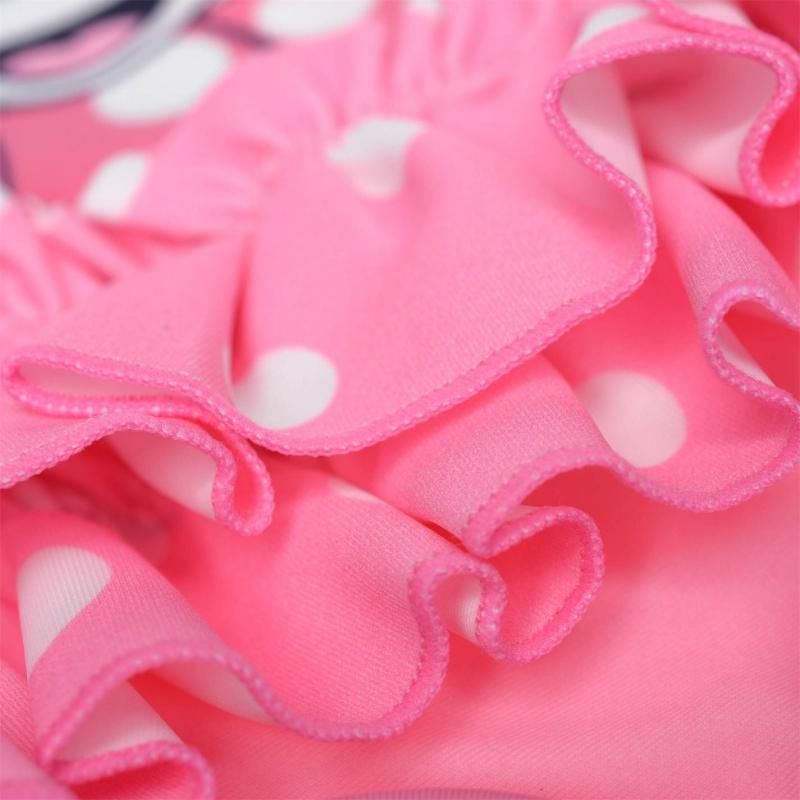 Character Swimsuit Baby Girls Minnie Chevron