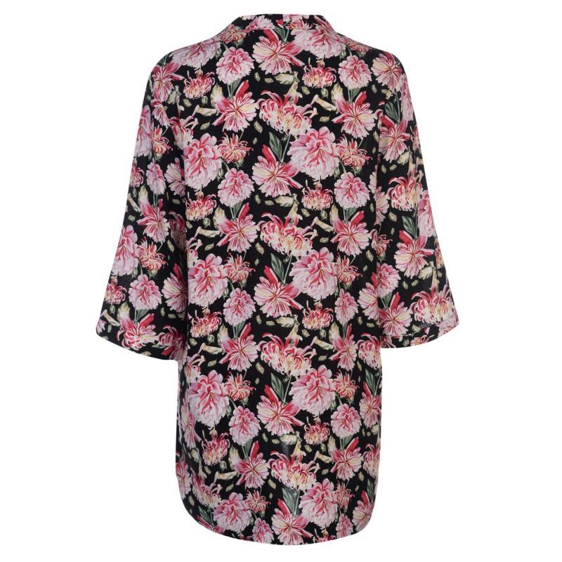 JDY Victory Kimono Black/Pink
