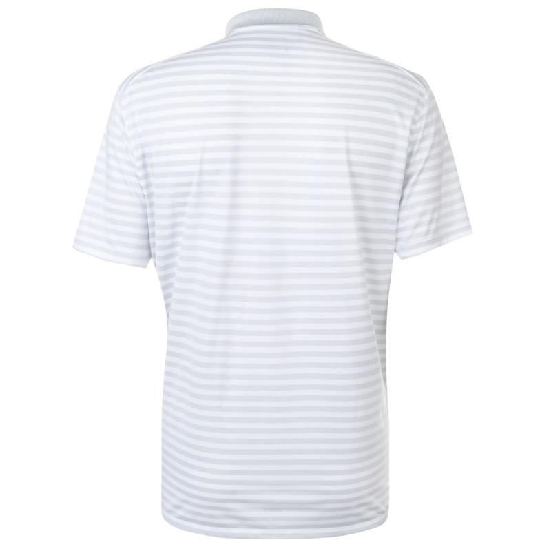 Footjoy Chest Stripe Polo Shirt Mens Navy/Grey