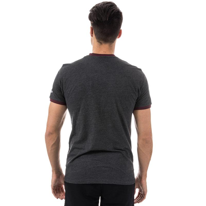 Tričko New Era Mens New York Yankees MLB Ringer T-Shirt Grey Heather