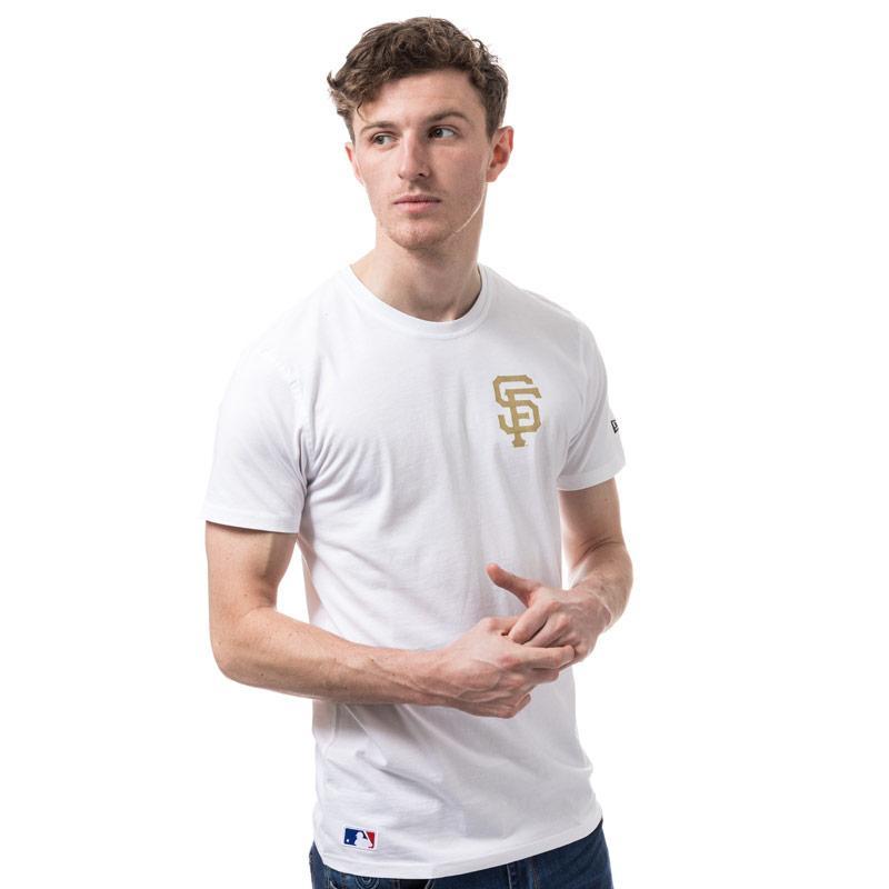 Tričko New Era Mens San Francisco MLB T-Shirt White