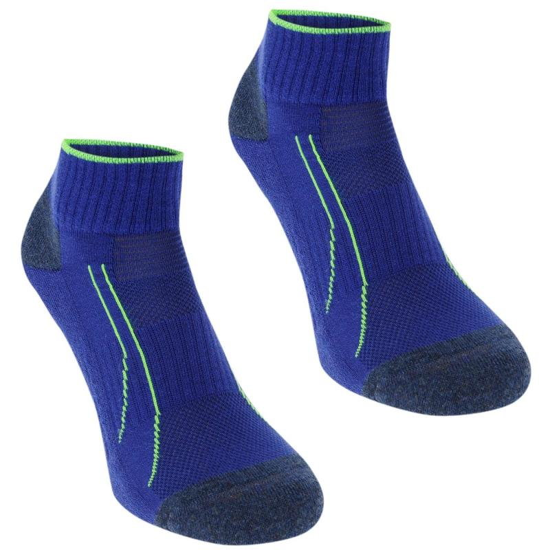 Ponožky Puma Quarter Socks 2 Pack Ladies Blue