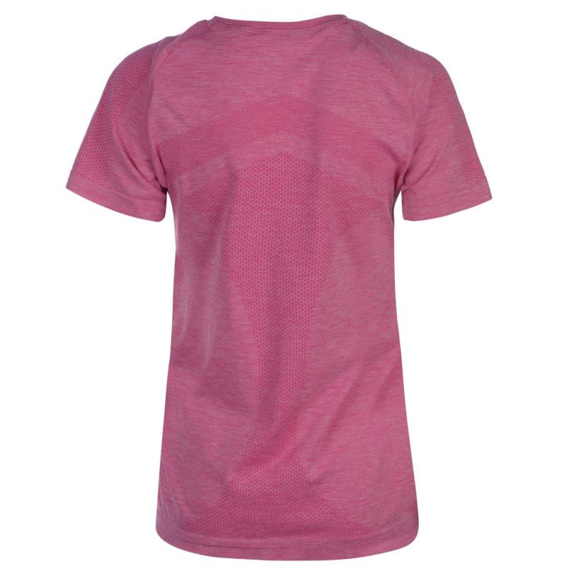 Ron Hill Infinity T Shirt Ladies Pink