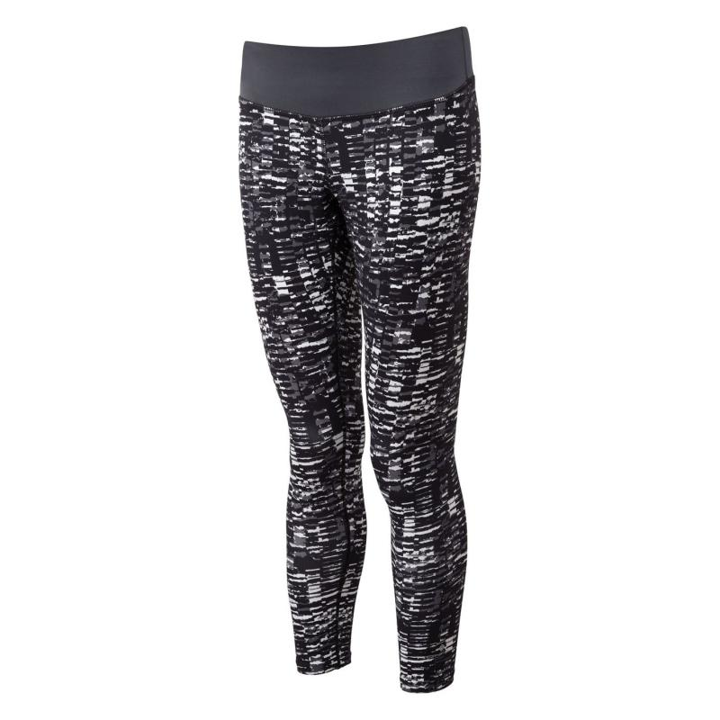 Legíny Ron Hill Momentum Tights Ladies Grey/Blk AOP