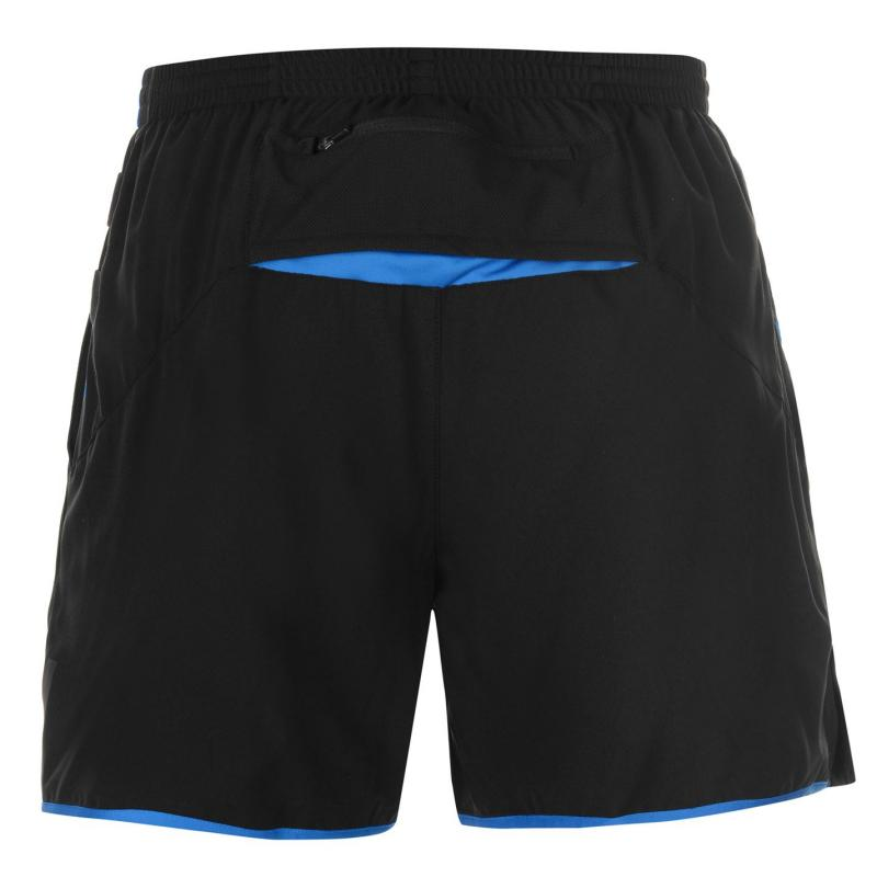Ron Hill Stride Shorts Mens Black/Blue