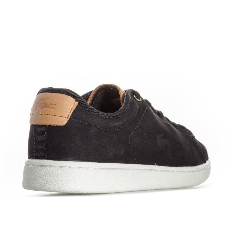 Lacoste Womens Carnaby Evo Leather Trainers Black