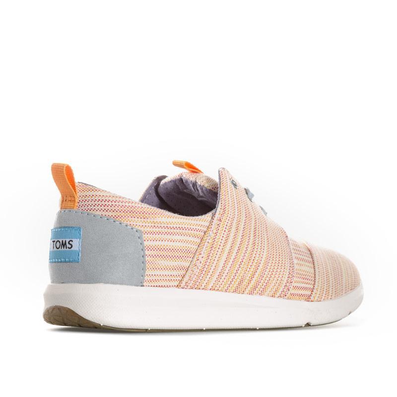 1bf608c45b37 Obuv Toms Womens Del Rey Stripe Sneakers Multi colour