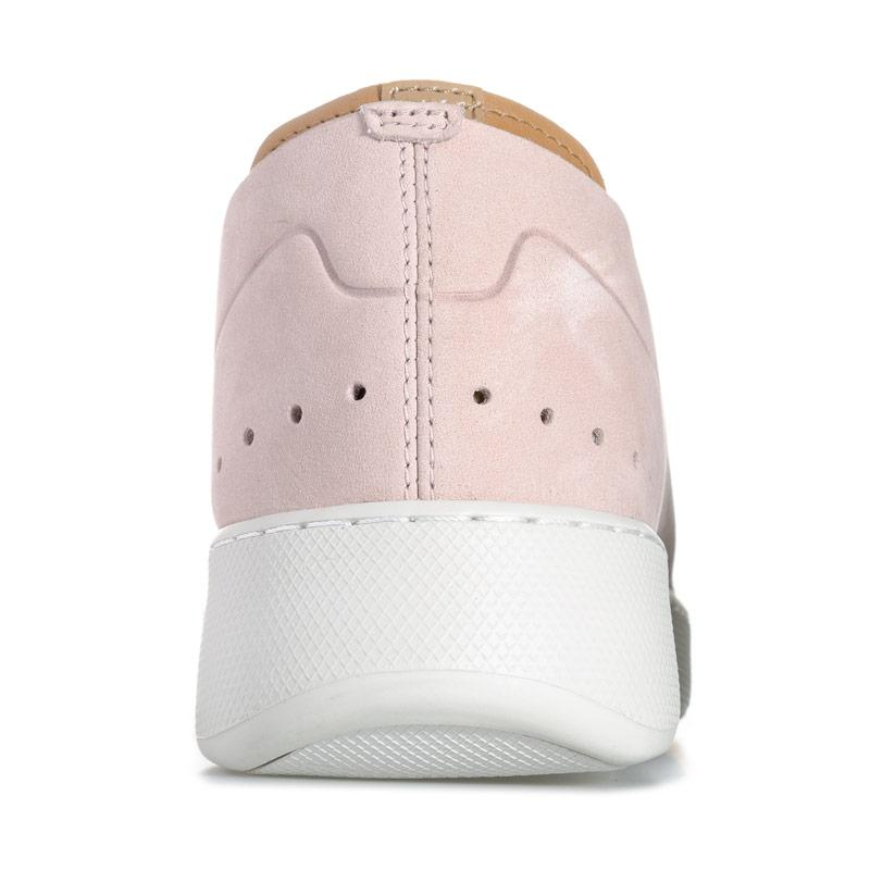 Lacoste Womens Eyyla Leather Trainers Pink