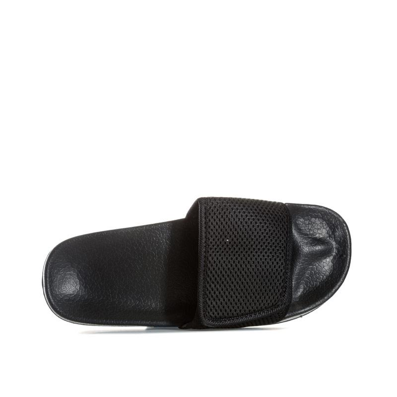 7x Mens Mesh Slip On Black