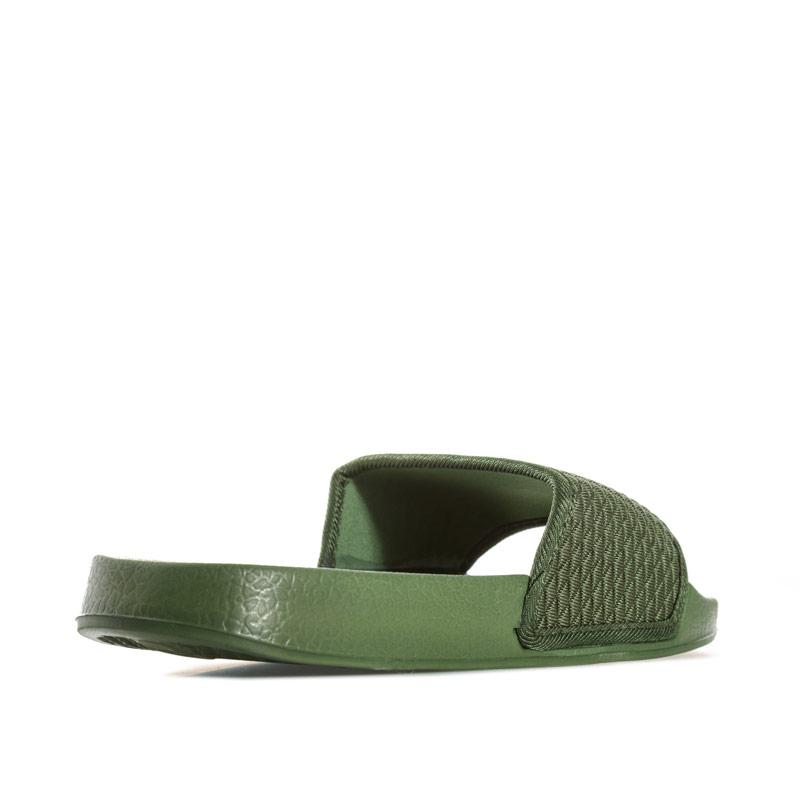 7x Mens Quilted Woven Slip On Khaki