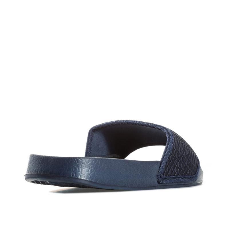 7x Mens Quilted Woven Slip On Navy
