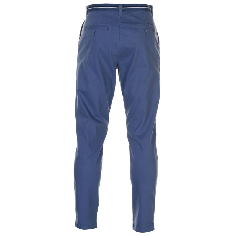 Kalhoty Pierre Cardin Relaxed Ankle Trousers Mens Blue