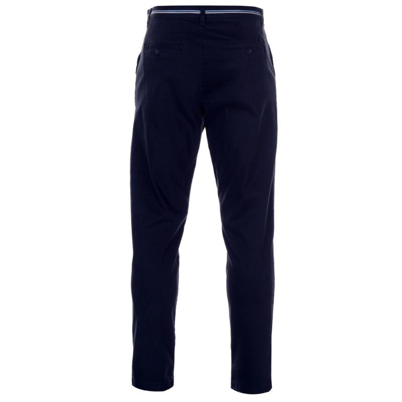 Kalhoty Pierre Cardin Relaxed Ankle Trousers Mens Navy