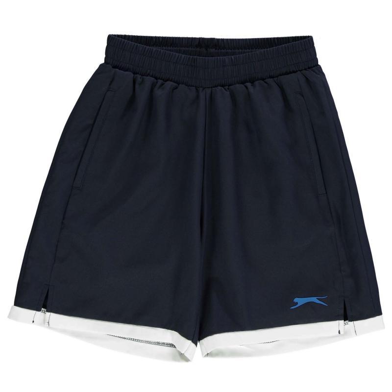 Slazenger Court Shorts Junior Navy
