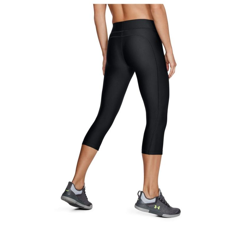 Under Armour HeatGear Capri Tights Ladies Black