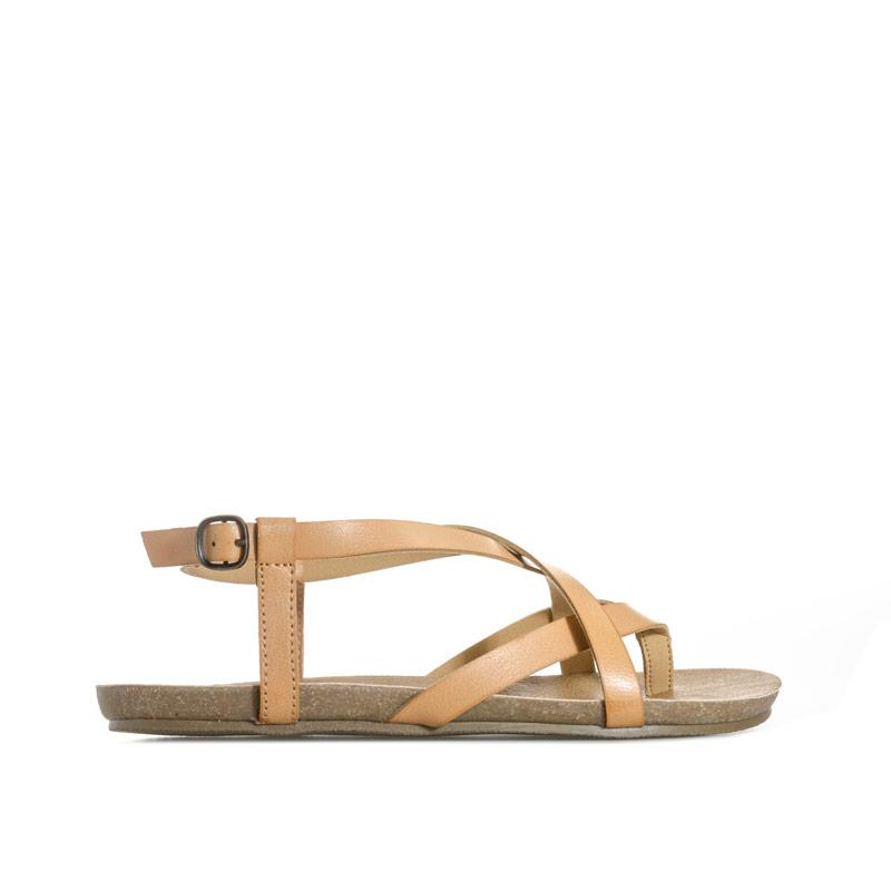 Boty Blowfish Malibu Womens Golden Sandals Tan