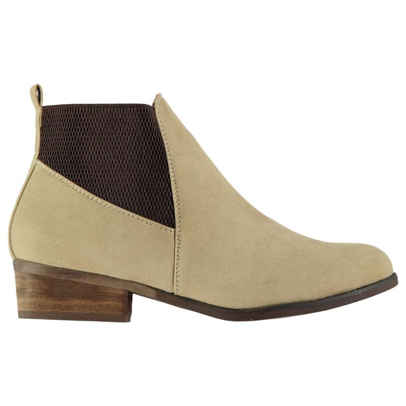 Dolcis Janet Ankle Boots Sand