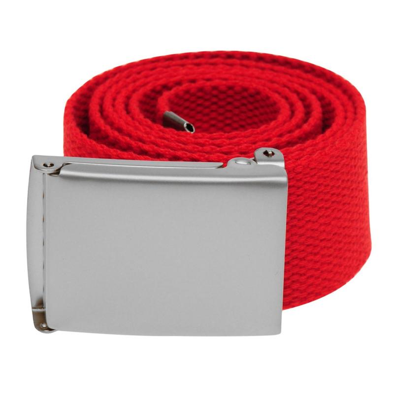 Jilted Generation Canvas Belt Red