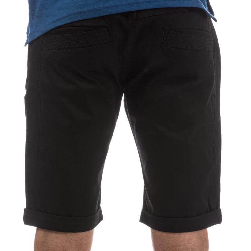 Eto Mens EMS571 Chino Short Black