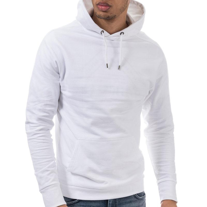 Mikina 883 Police Mens Moon Casual Sweat Hoody White
