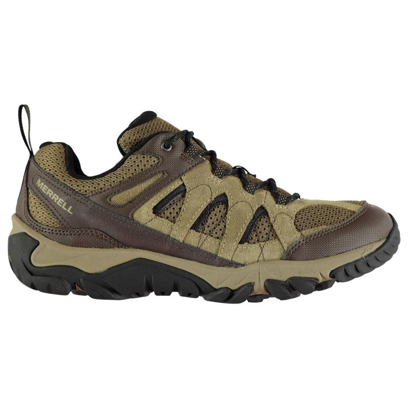 Merrell Outmost Ventilator Walking Shoes Mens Charcoal