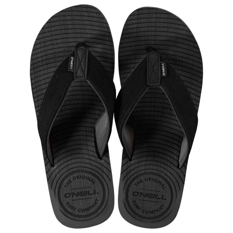 ONeill Koosh Slide Flip Flops Mens Brown