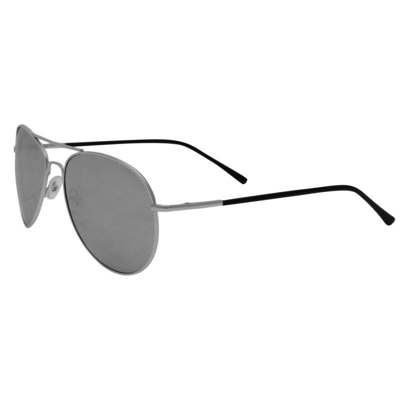 Pulp Pulp Aviator Sunglasses Mens Mirror