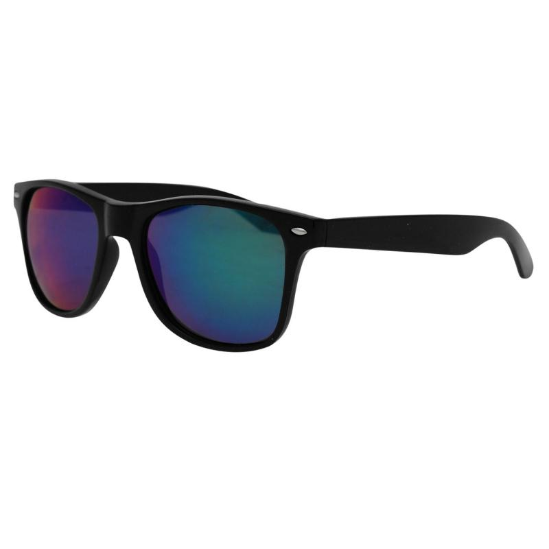 Pulp Pulp Iridescent Sunglasses Mens Black