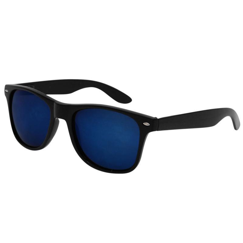 Pulp Pulp Iridescent Sunglasses Mens Black/Orange