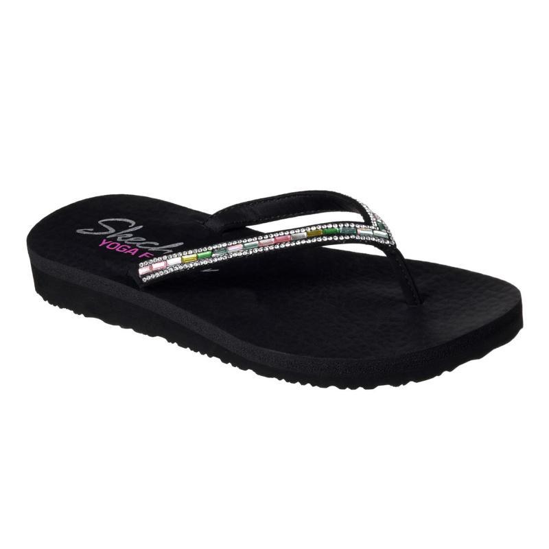 Boty Skechers Meditation Desert Princess Sandals Ladies Black/Multi