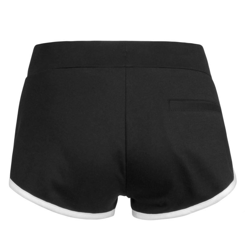 Lee Cooper Shorts Ladies Grey Marl