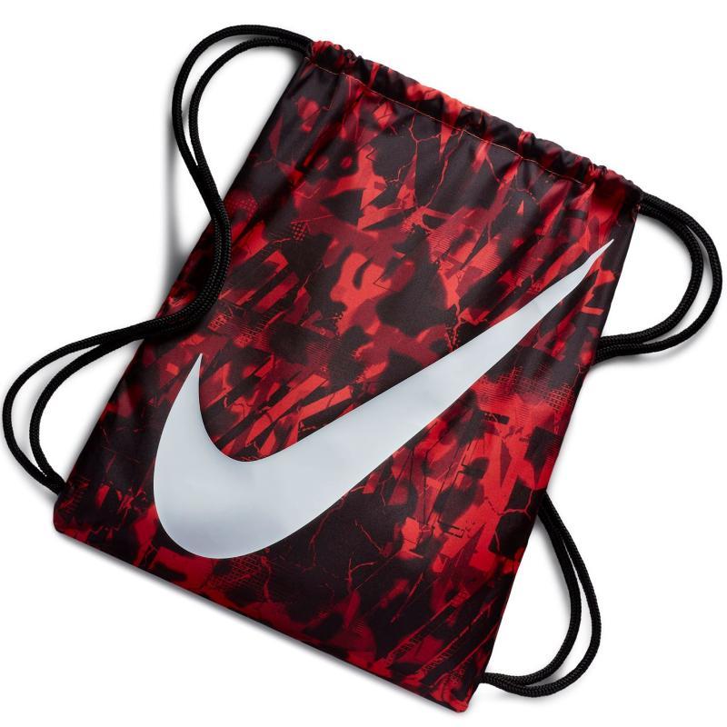 Nike Graphic Gym Sack Black/White