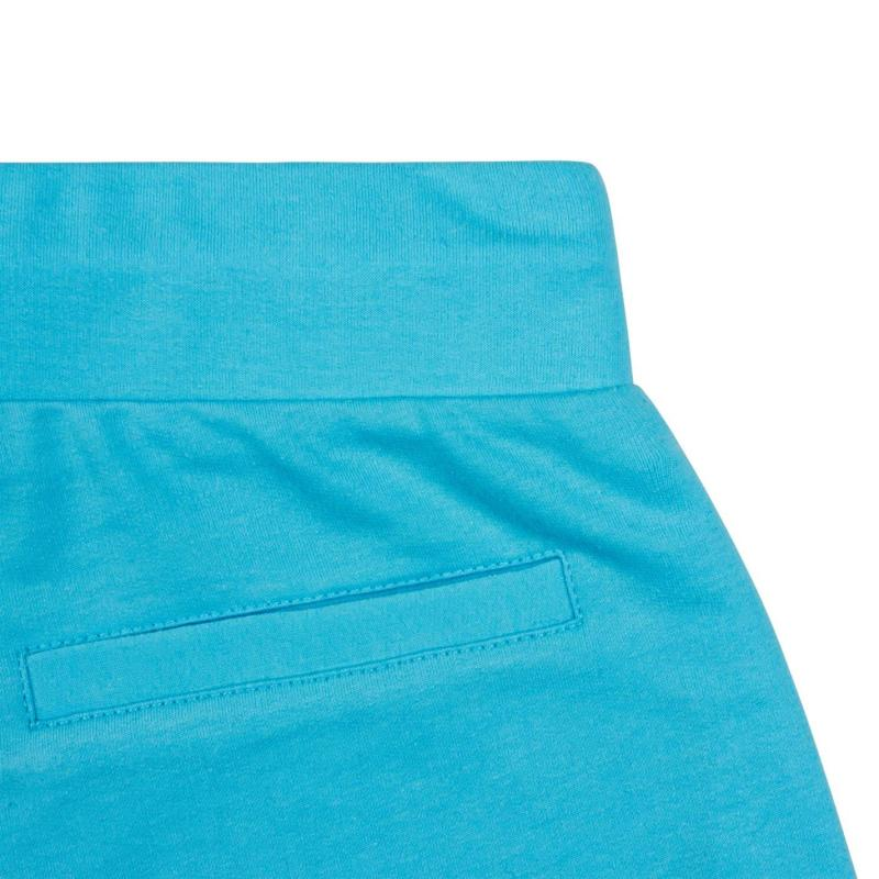 Ocean Pacific Terry Shorts Ladies Baby Blue