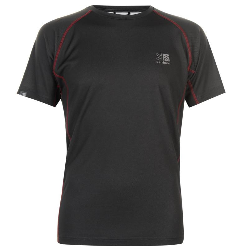 Tričko Karrimor Aspen Technical T Shirt Aspen Grey