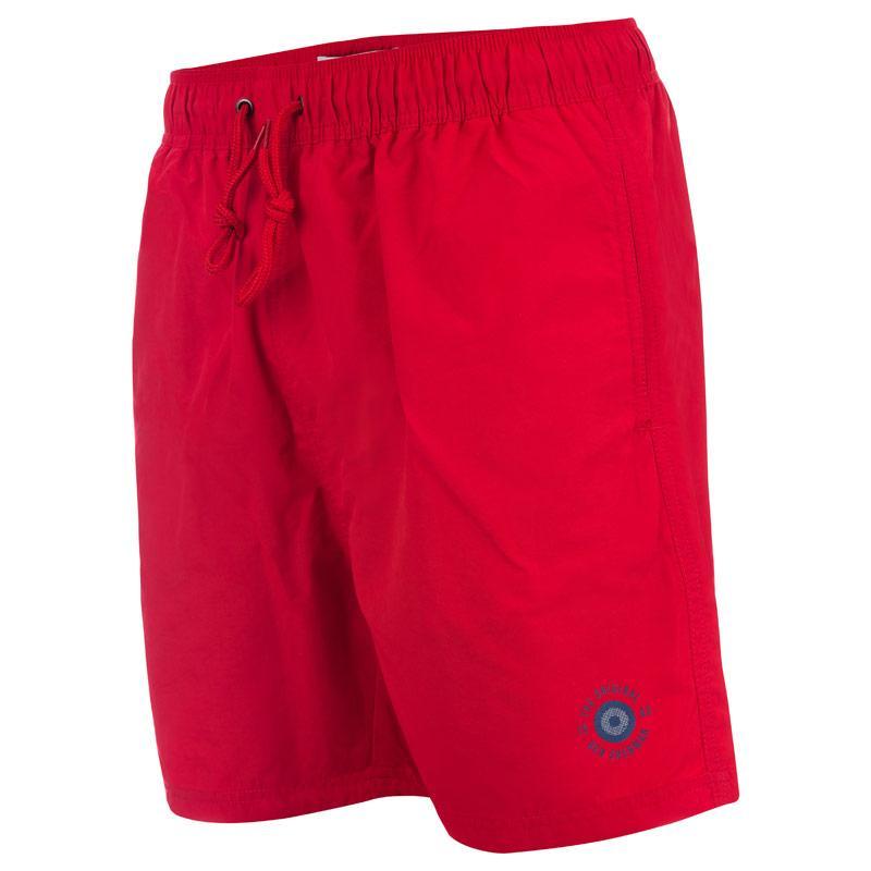 Ben Sherman Mens Inpanema Swim Shorts Red