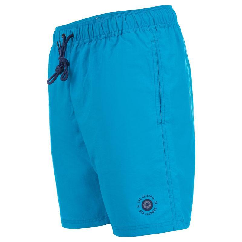 Ben Sherman Mens Inpanema Swim Shorts Blue