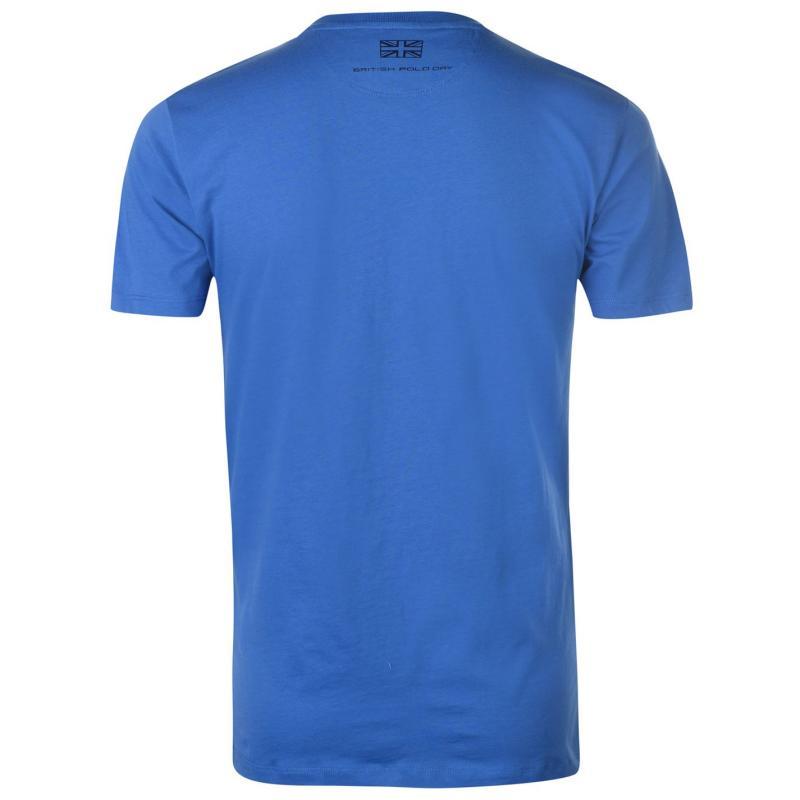 Tričko Hackett T Shirt Mens White