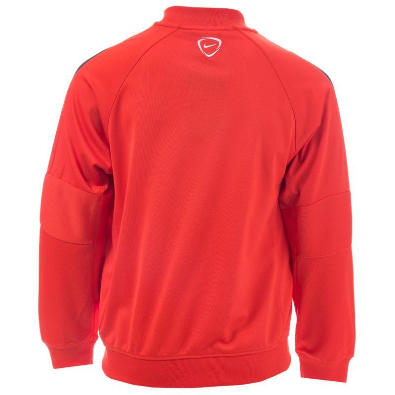 Bunda Nike Junior Boys Squad 15 Sideline Knit Jacket Red