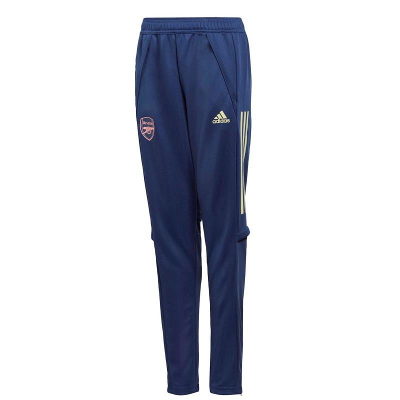 Adidas Arsenal Track Pants 2020 2021 Junior Navy