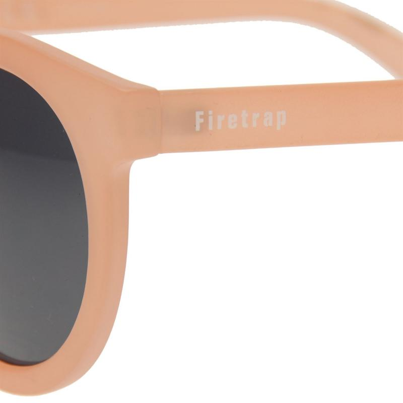 Firetrap Madrid Sunglasses Ladies Pale Pink/Smoke